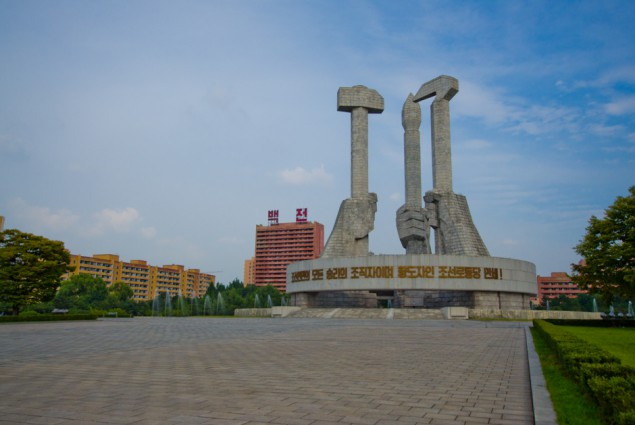 Monument of Party Founding, Pyongyang